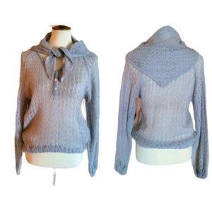 Vintage - Pierre Cardin Mohair Blend Sweater/Scarf